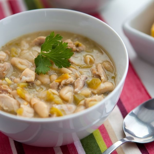 Image of White Bean Chicken Chili Soup
