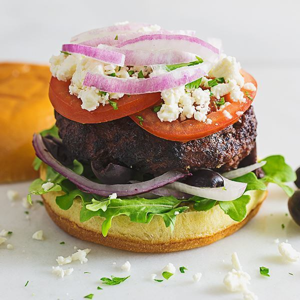 Image of Mediterranean Burger
