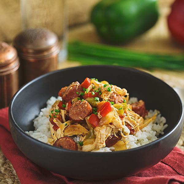 Image of Creole Chicken and Sausage