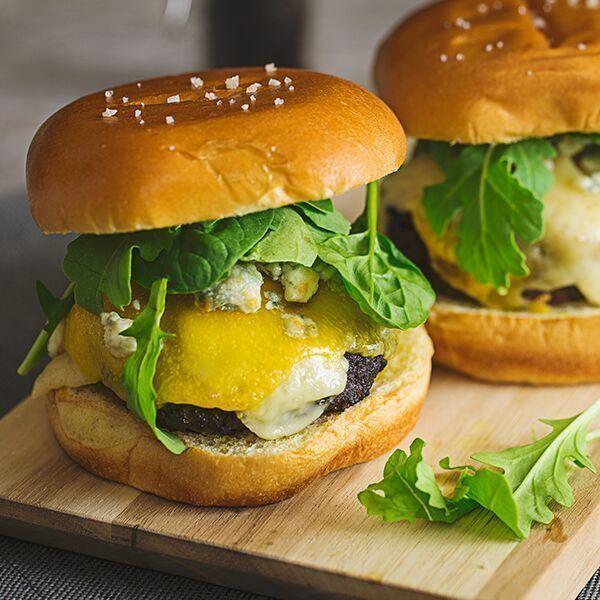 Image ofThree Cheese Burger