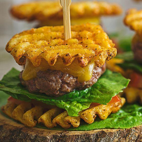 Image of Waffle Fry Sliders