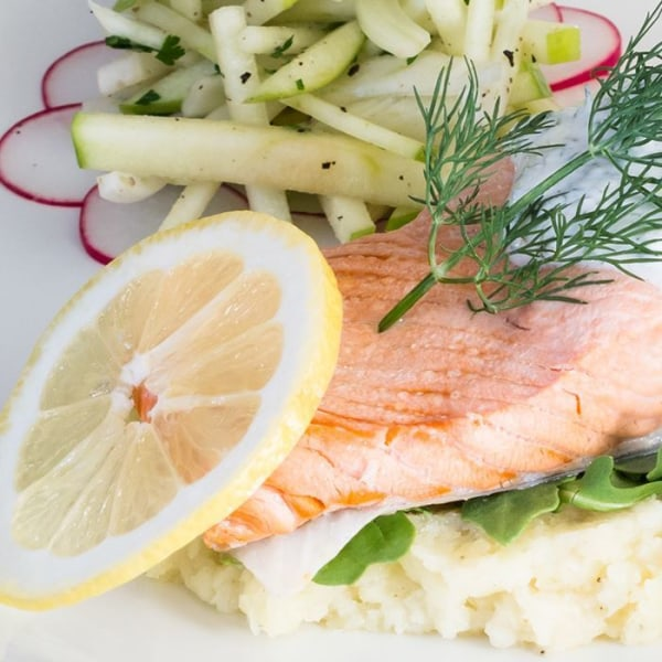 Image of Poached Salmon
