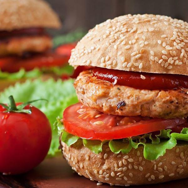 Image of   BBQ Turkey Burger
