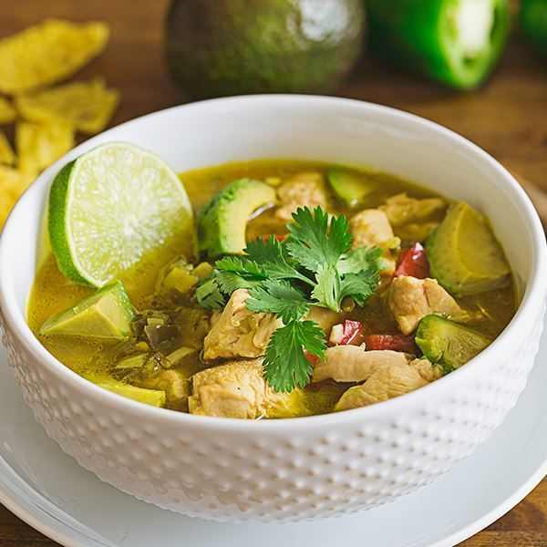 Image of Summer Chicken and Lime Soup