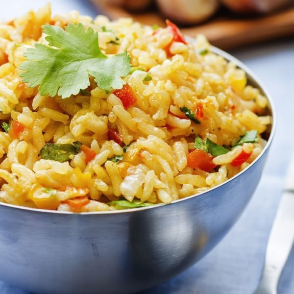 Image of Rice with Peppers