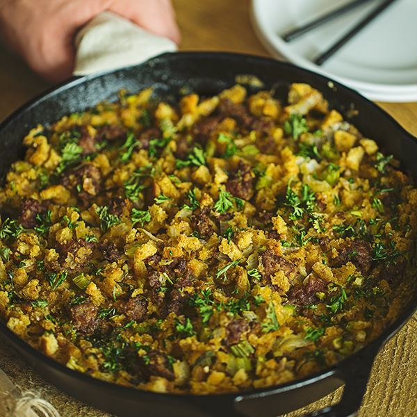 Image of Sausage Stuffing with Herbs