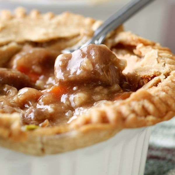 Image of Beef and Mushroom Pot Pie.