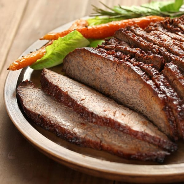 Image of Braised and Slow Roasted Beef Brisket