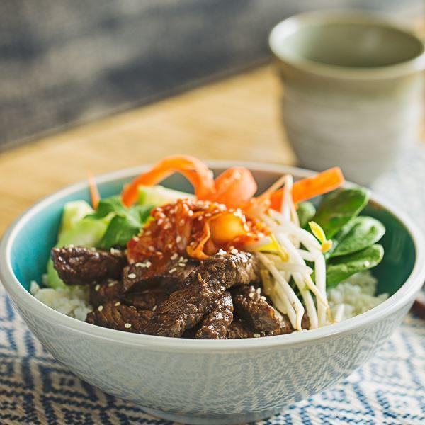 Image ofKorean Beef Bowl with Rice & Veggies