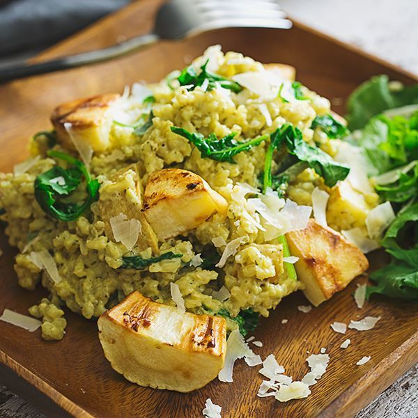 Image of Creamy Parsnip Risotto