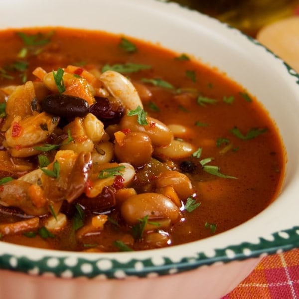Image of Four Bean Soup.