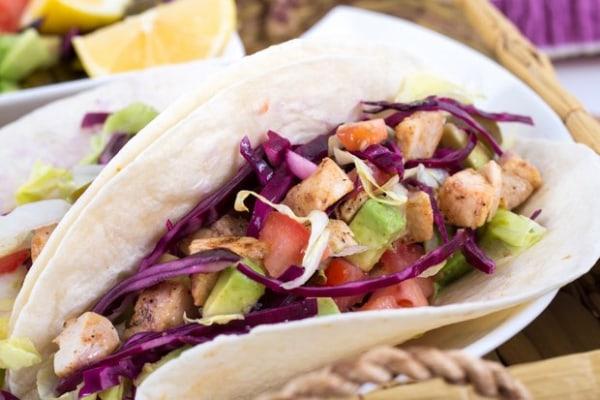 Image ofGrilled Mahi-Mahi Tacos