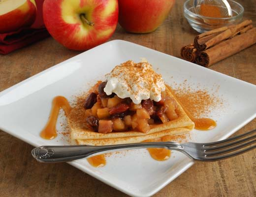 Image of Apple Pie Crepes