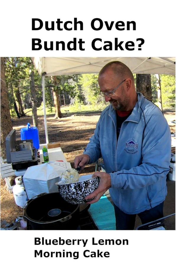 Image of Blueberry Lemon Morning Cake