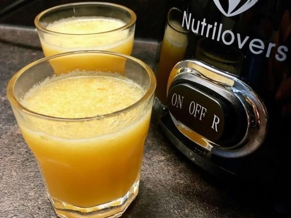 Image of🍎 Der Ingwer-Apfel-Mandarinen Shot | Rezept