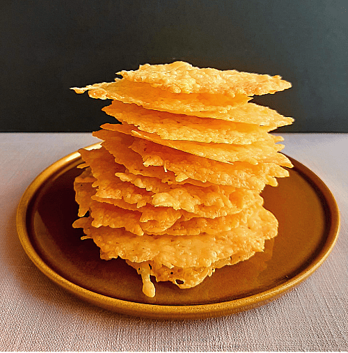 Image of Crispy Cheese Cookies