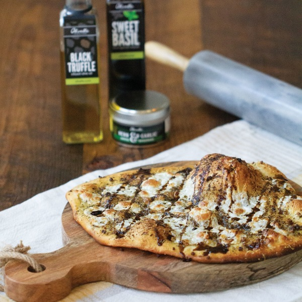 Image of Garlic & Black Truffle Pizza