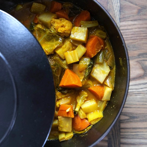 Image of Turmeric & Coconut Vegetable Soup