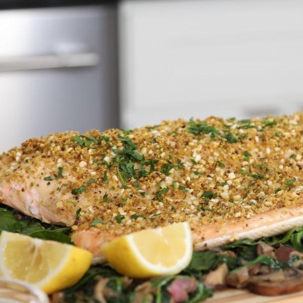 Image of Pistachio Crusted Salmon