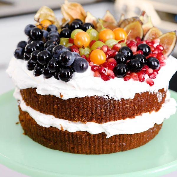 Image of Whiskey Honey Cake