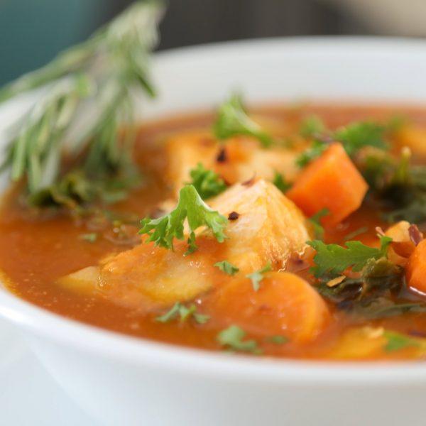 Image of Kale Fish Stew