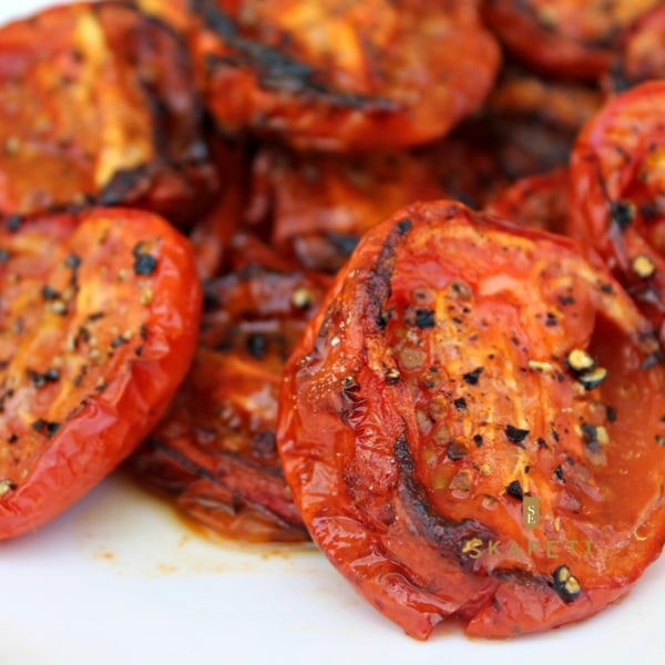 Image of Roasted Tomatoes with Pesto