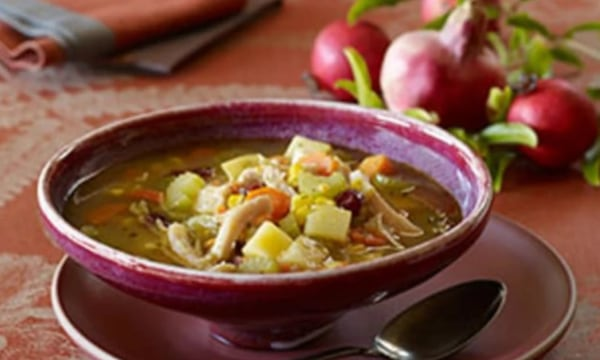 Image of Thanksgiving Leftovers Soup