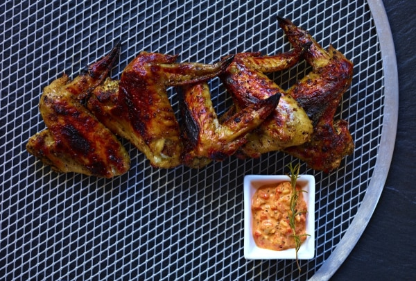 Image of Chicken Wings with Spiced Aioli