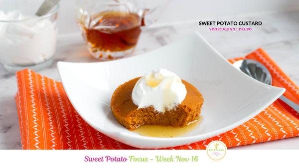Image ofSweet Potato Custard (Vegetarian   Paleo)