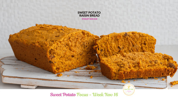 Image of Sweet Potato Raisin Bread (Vegetarian)