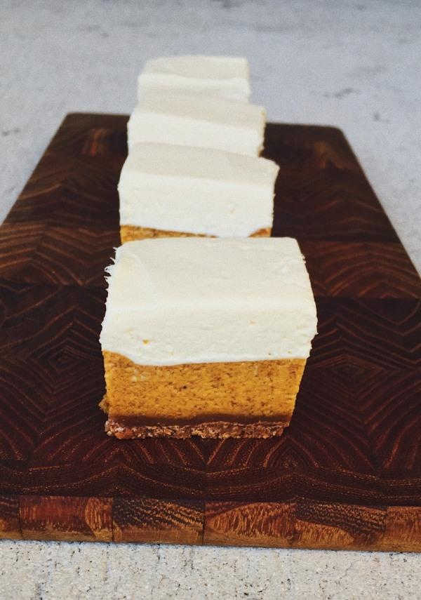 Image of Pumpkin Cheesecake Bars
