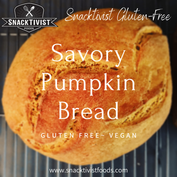 Image of Savory Pumpkin Spice Artisan Bread (Gluten-Free)