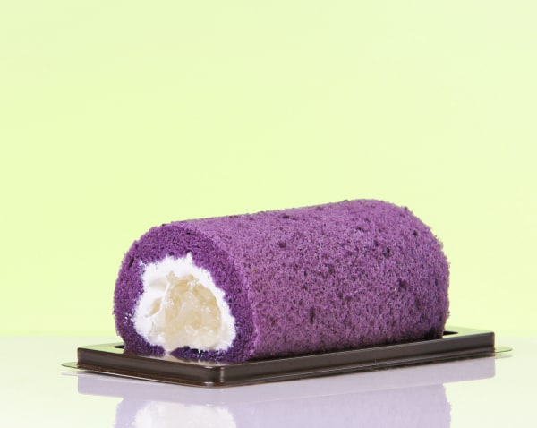 Image ofUbe Swiss Roll Cake