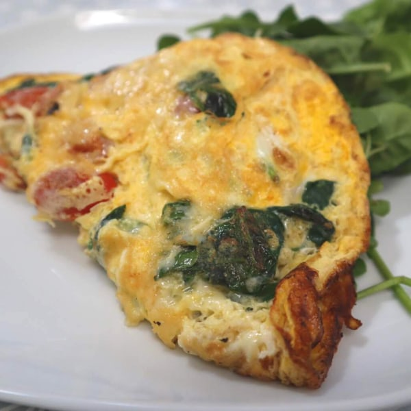 Image of Cheese & Tomato Omelette