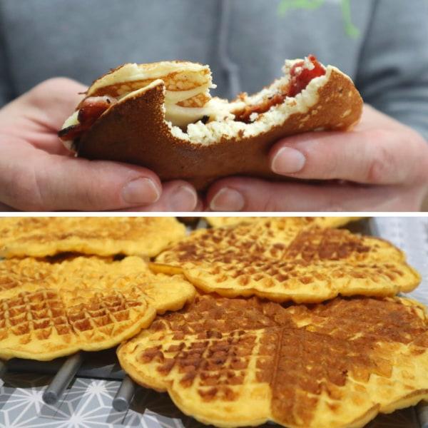 Image of Savoury Waffles