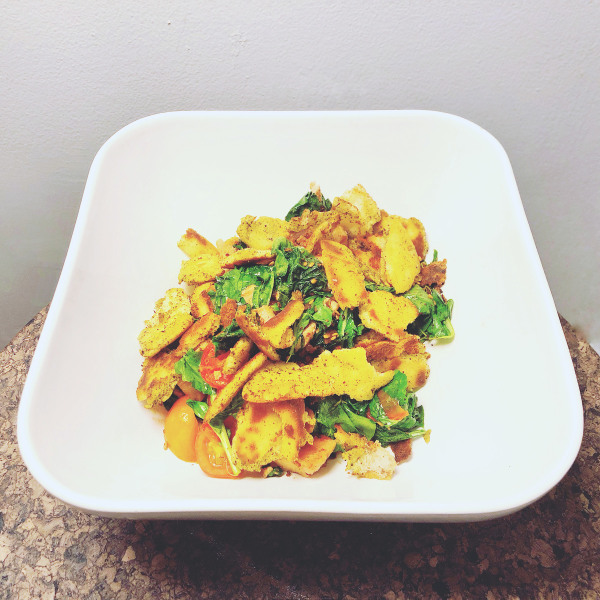 Image of Warm Za'atar Pita Salad