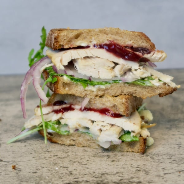 Image ofturkey leftovers sandwich