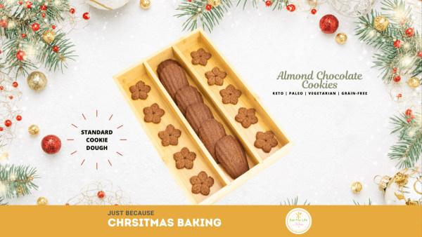 Image ofAlmond Chocolate Cookies – Christmas Baking