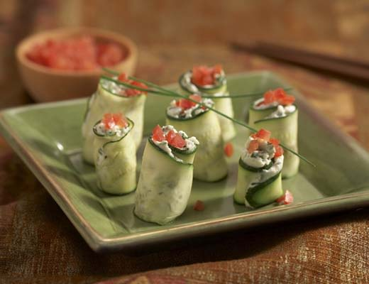 Image of  Zucchini Roll-Ups