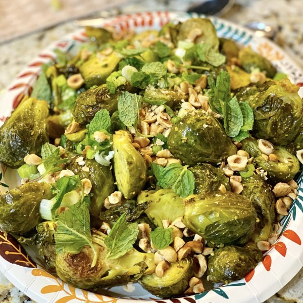 Image of Vadouvan Roasted Brussels Sprouts