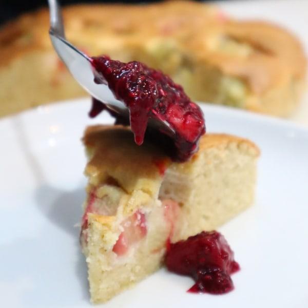 Image of Rhubarb & Ginger Cake