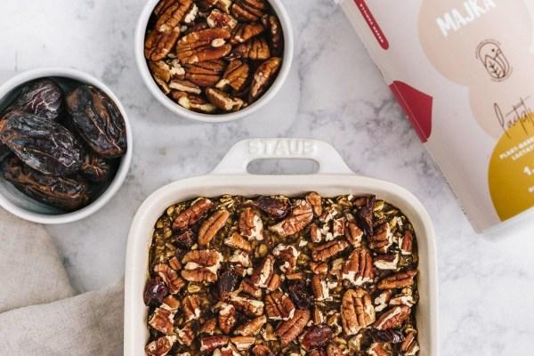 Image of Majka Chai-Spiced Banana Baked Oatmeal