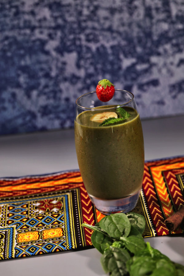 Image of STRAWBERRY & SPINACH SMOOTHIE