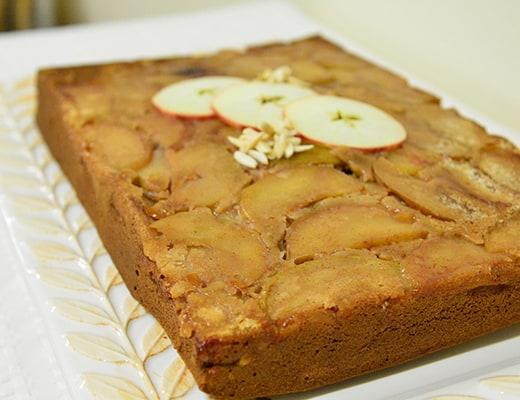 Image of Apple Upside-Down Cake