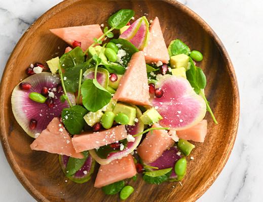 Image of Pinkglow™ Pink Pineapple Salad