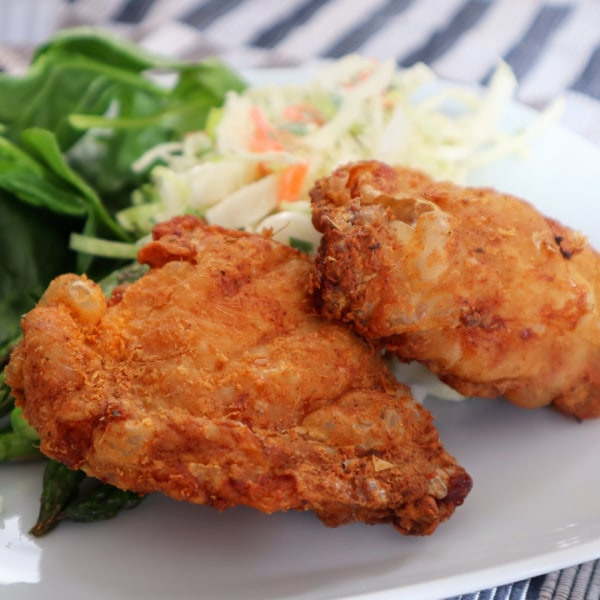 Image of Crispy Coated Chicken Thighs
