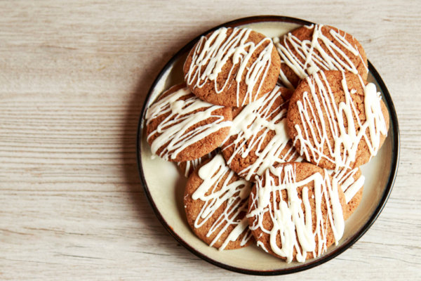 Image of Cream Cheese Frosted Gingerbread Cookies