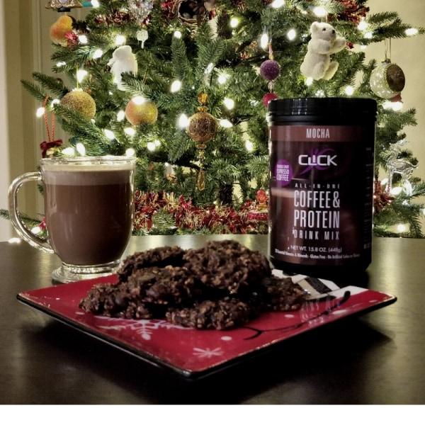 Image ofCoffee Protein Recipe: Mocha Mint Breakfast Cookies