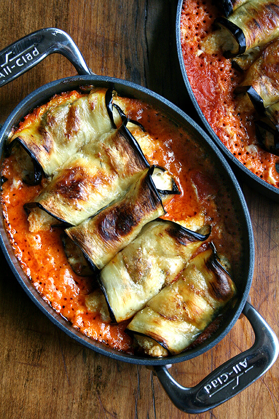 Image of Aubergine Involtini