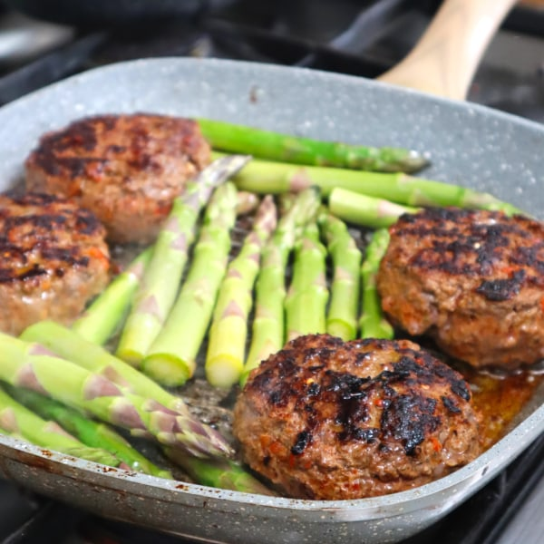 Image of Spiced Up Beef Burgers